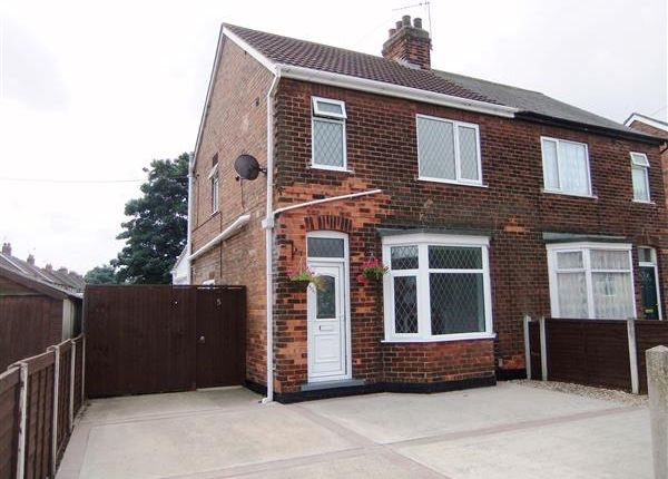Thumbnail Semi-detached house for sale in Bushfield Road, Scunthorpe