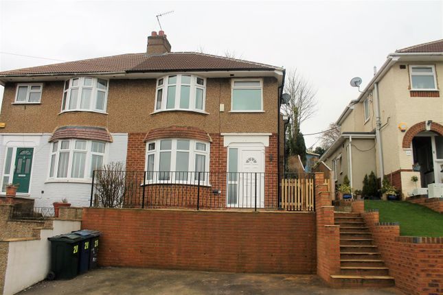 Thumbnail Semi-detached house for sale in Colborne Road, High Wycombe