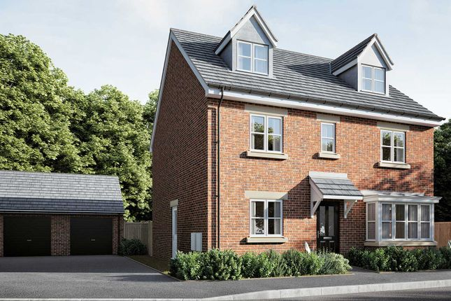 """Thumbnail Detached house for sale in """"The Fletcher Executive"""" at Smug Oak Lane, Bricket Wood, St.Albans"""