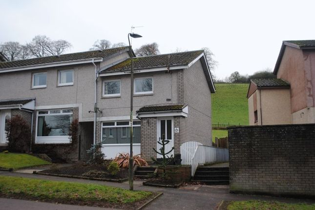 Thumbnail End terrace house to rent in Kirkfield Road, Kirkfieldbank, Lanark