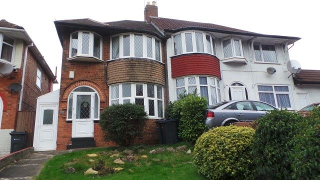 Thumbnail Semi-detached house for sale in College Road, Sutton Coldfield, West Midlands