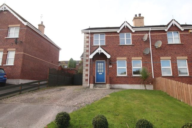 Thumbnail Semi-detached house to rent in Whitethorn Mews, Newtownards