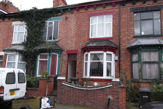 Thumbnail Terraced house to rent in Belgrave Avenue, Leicester