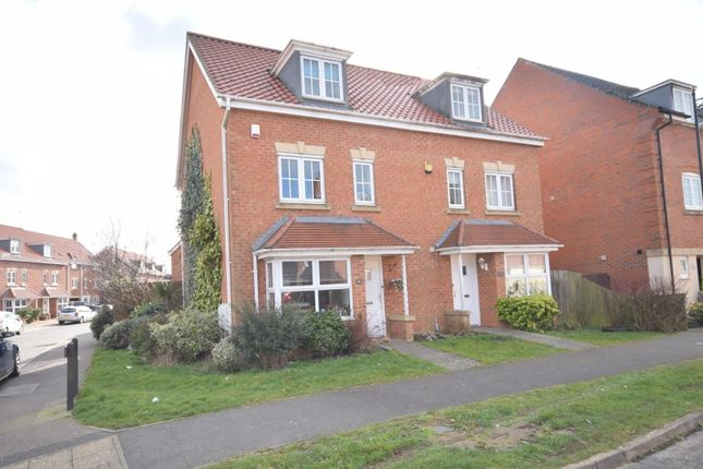 4 bed semi-detached house for sale in Thistle Drive, Desborough, Kettering NN14