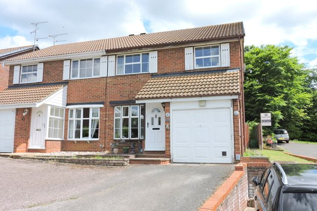 3 bed semi-detached house for sale in Corinium Gardens, Luton