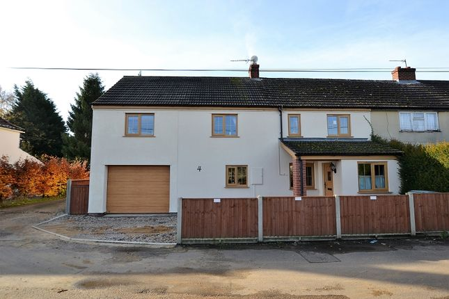 Thumbnail Semi-detached house for sale in Chapel Lane, Foulsham, Dereham, Norfolk.