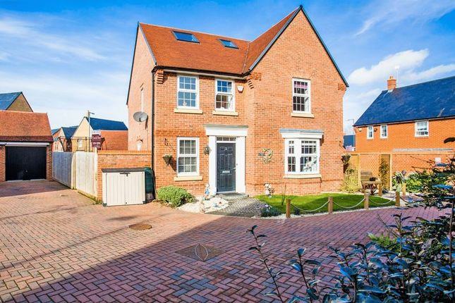 Thumbnail Detached house to rent in Butterfly Close, Buckingham