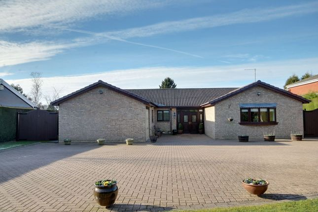 Thumbnail Bungalow for sale in Parklands, Darras Hall, Newcastle Upon Tyne