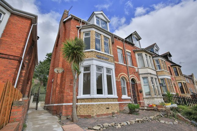 Thumbnail End terrace house for sale in Porthkerry Road, Barry