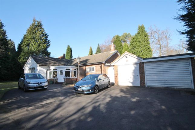 Thumbnail Detached bungalow for sale in Elsenwood Drive, Camberley