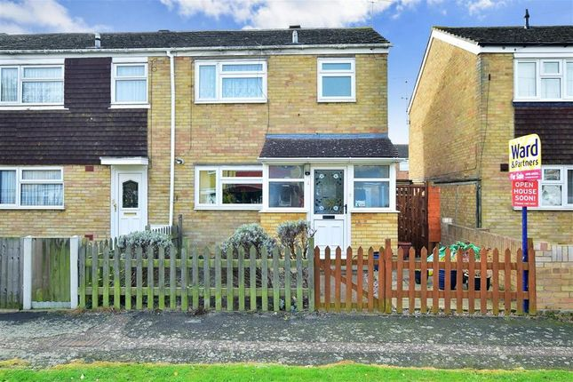 Thumbnail End terrace house for sale in Harris Gardens, Sittingbourne, Kent