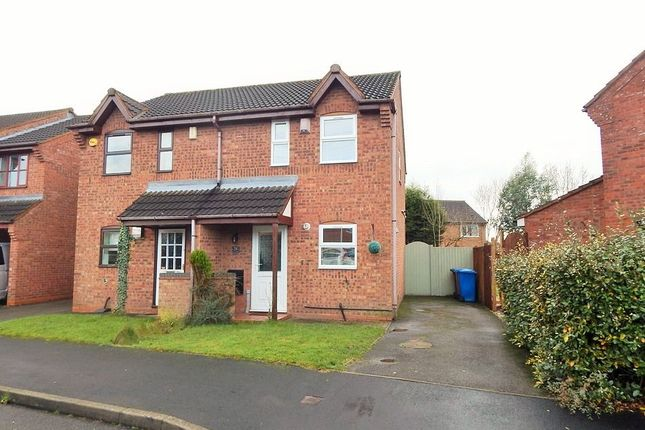 Thumbnail Semi-detached house to rent in Mavor Avenue, Burntwood