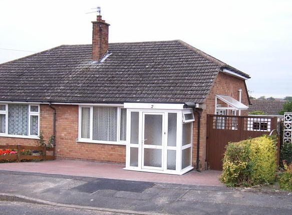 Thumbnail Bungalow to rent in Rannoch Close, Allestree, Derby