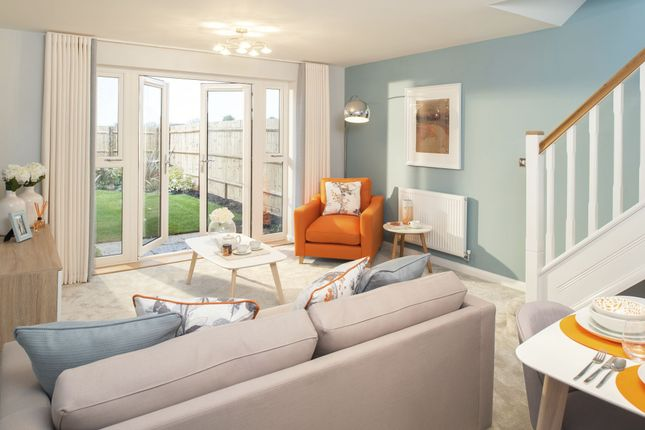 "Thumbnail End terrace house for sale in ""Tiverton"" at Broughton Crossing, Broughton, Aylesbury"