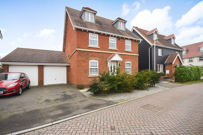 Thumbnail Detached house for sale in Atkinson Road, Hawkinge, Folkestone