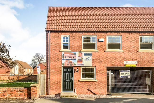 3 bed semi-detached house for sale in Wesley Court, Billingborough, Sleaford NG34