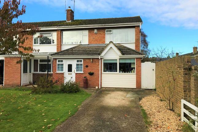 Thumbnail Semi-detached house for sale in Barton Drive, Hedge End, Southampton