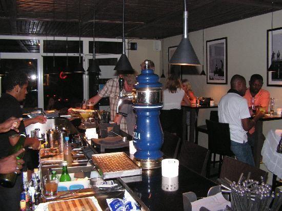 Internal of Blubar, Blu Bar, Santa Maria, Cape Verde