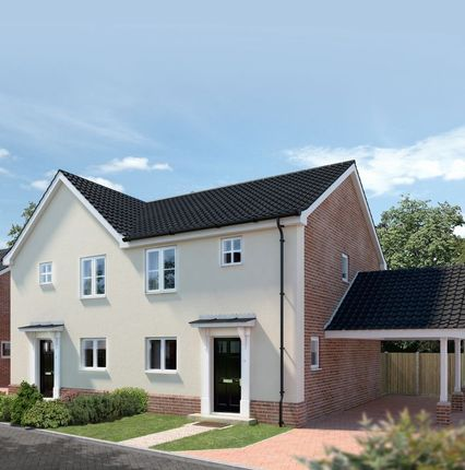 Thumbnail Semi-detached house for sale in Plot 30, Springfield Grange, Acle