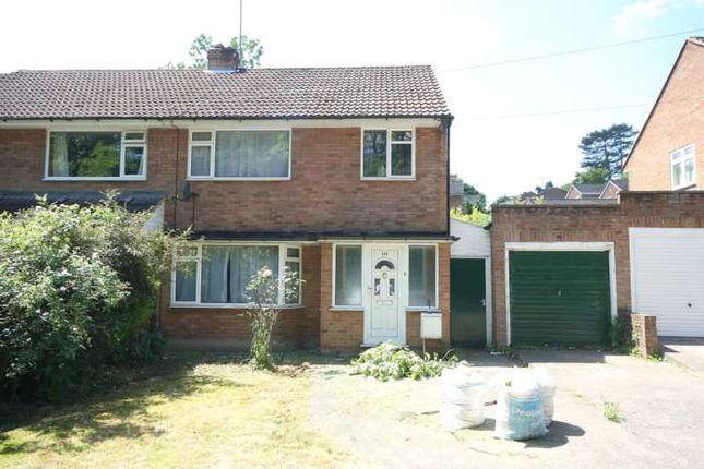 Thumbnail Semi-detached house to rent in Beechfield Road, Hemel Hempstead