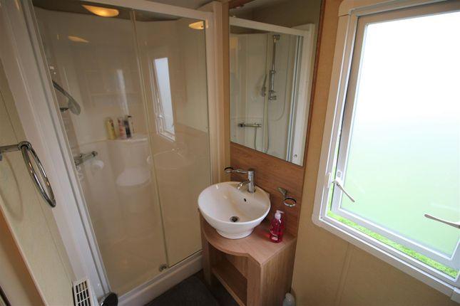 Shower Room of Holiday Park Home, Scotforth, Lancaster LA2