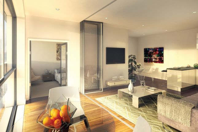Thumbnail Flat for sale in Royal Victoria Place, London