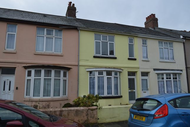 Thumbnail Terraced house to rent in Pennycross Park Road, Plymouth