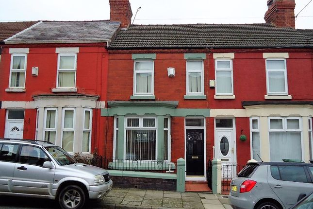 Thumbnail Terraced house to rent in Park Road, Tranmere, Birkenhead