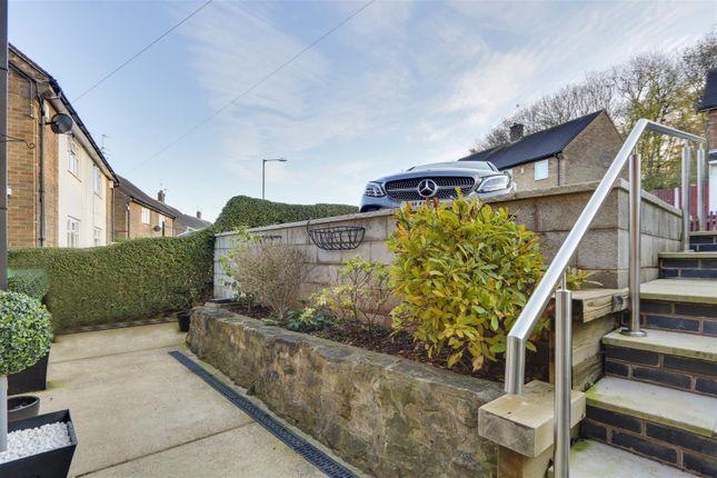 Front (2) of Mosswood Crescent, Bestwood Park, Nottinghamshire NG5