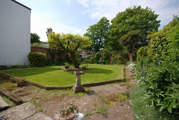 Garden of Fortfield Terrace, Sidmouth EX10