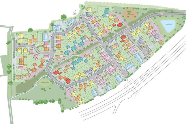 Site Plan of Four Elms Place, Chattenden, Rochester, Kent ME3