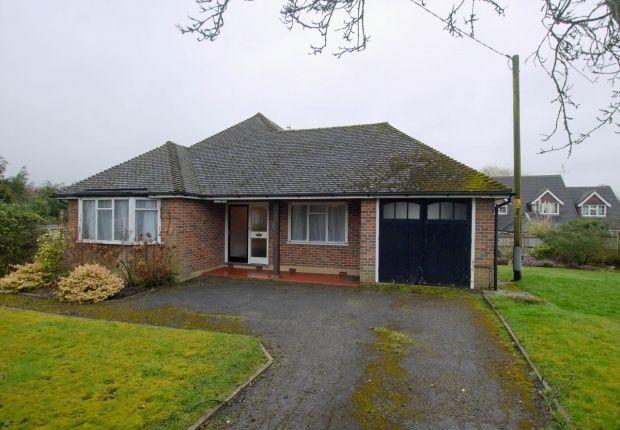 Thumbnail Detached bungalow for sale in Church Road, Weald, Sevenoaks
