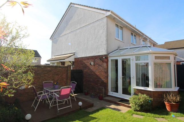 Thumbnail Semi-detached house for sale in Snell Drive, Latchbrook, Saltash