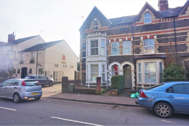 Thumbnail End terrace house for sale in Romilly Crescent, Cardiff