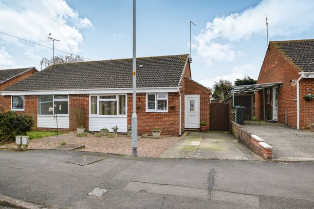 Thumbnail Semi-detached bungalow for sale in Coleridge Close, Royal Wootton Bassett, Swindon
