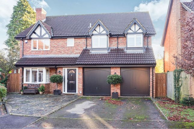 Thumbnail Detached house for sale in Havercroft Close, St. Albans