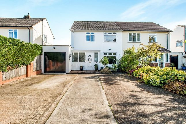 Thumbnail Semi-detached house for sale in Pryor Close, Abbots Langley