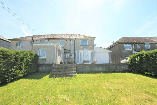 Semi-detached house for sale in Etna Terrace, Gilfach Goch, Porth