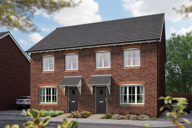 "Thumbnail Town house for sale in ""The Cranham"" at Weights Lane Business Park, Weights Lane, Redditch"