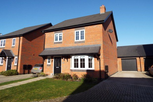 Thumbnail Semi-detached house to rent in Campion Way, Uttoxeter