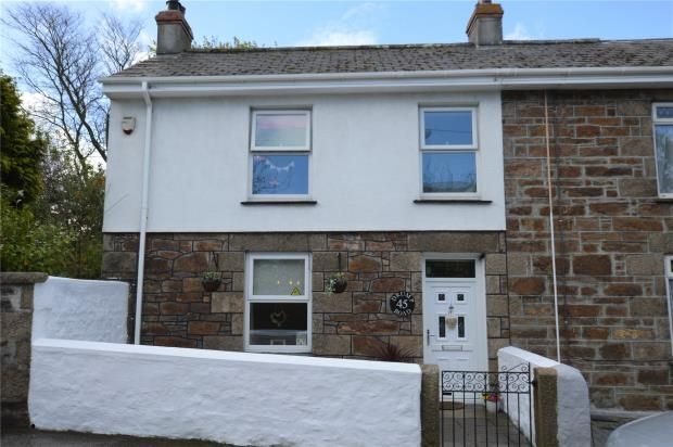 Thumbnail End terrace house for sale in Drump Road, Redruth, Cornwall