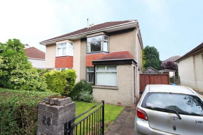 Thumbnail Semi-detached house for sale in Bakewell Road, Garrowhill, Glasgow, Lanarkshire