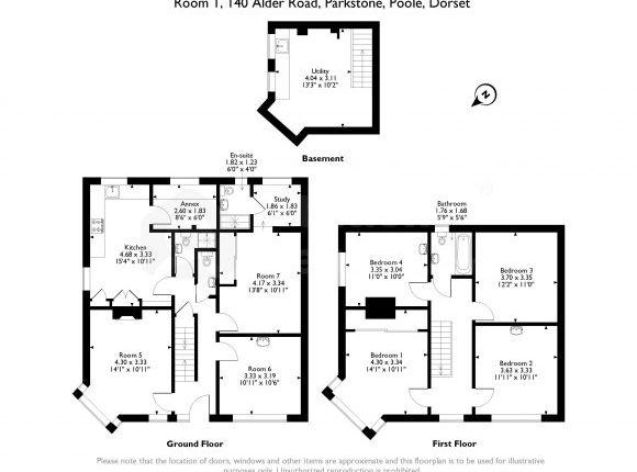 140 Alder Road - Floorplan