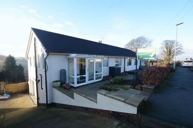 Thumbnail Semi-detached bungalow for sale in Back Lane, Baxenden, Accrington
