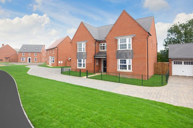 "Thumbnail Detached house for sale in ""Evesham"" at Station Road, Langford, Biggleswade"