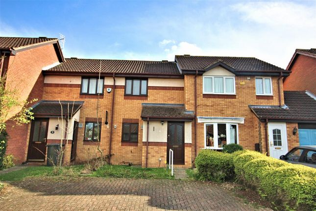Thumbnail Terraced house for sale in Dynevor Close, Bromham, Bedford