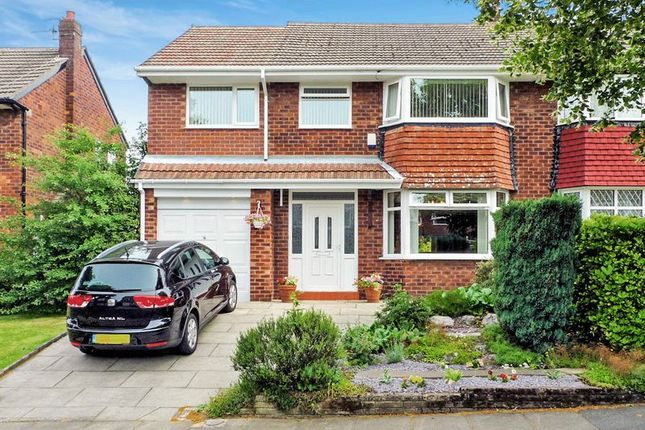 Thumbnail Semi-detached house for sale in Tamworth Avenue, Whitefield - 4/5 Bedroom, 4 Reception Semi Detached House