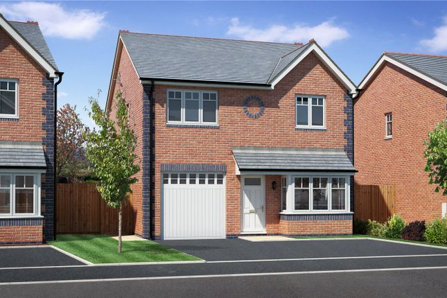 Thumbnail Detached house for sale in Plot 5, Badgers Fields, Arddleen, Llanymynech, Powys
