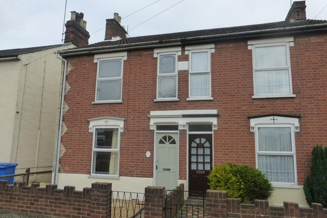 Thumbnail Semi-detached house to rent in Levington Road, Ipswich