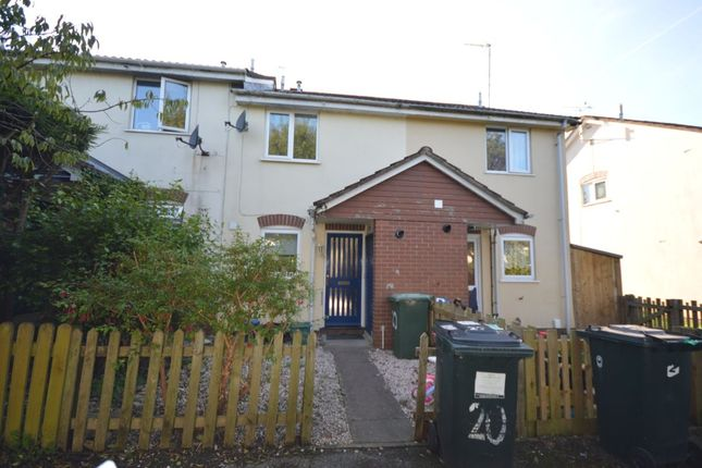 Thumbnail Terraced house to rent in Webber Close, Ogwell, Newton Abbot